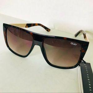 Quay Australia Incognito Tortoise Brown Sunglasses